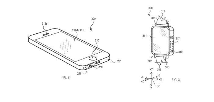 Patente mostra sistema de controle por sopro no Apple Watch (Imagem: Reprodução/Apple)