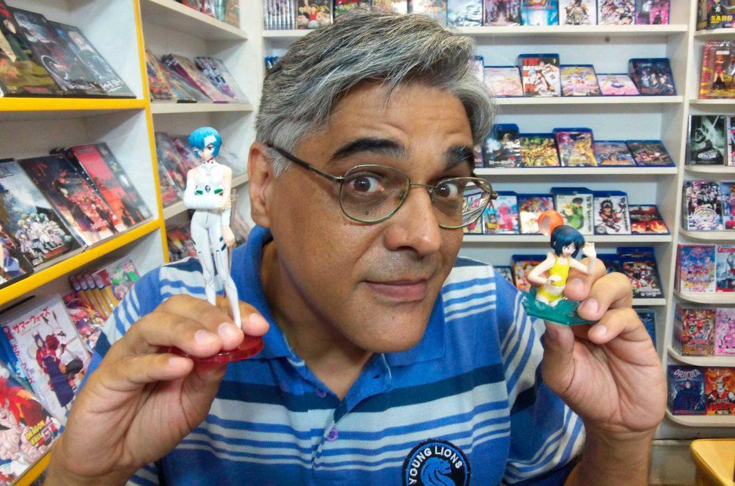 Sérgio Peixoto foi o responsável pelo primeiro evento de anime no Brasil e também pelas primeiras exibições (Imagem: Reprodução)