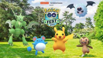 Niantic revela data do Pokémon GO Fest 2021 sem dizer se é presencial