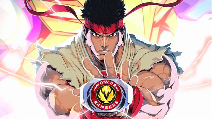 Ryu e Chun-Li chegam a Power Rangers Battle for the Grid (Imagem: Divulgação/Nway)