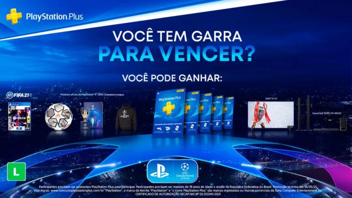 """Concurso """"Você tem garra pra vencer?"""", da PlayStation Brasil (Imagem: Divulgação/PlayStation)"""