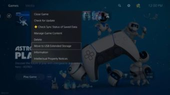Jogos do PS5 poderão ser salvos em HD externo, mas não serão jogáveis