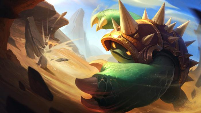 Rammus chega ao Wild Rift em 21 de abril (Imagem: Divulgação/Riot Games)