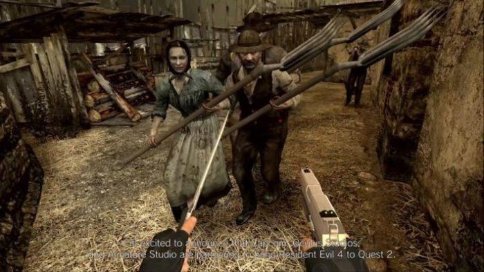 Resident Evil 4 chega às plataformas VR (Imagem: Divulgação/Capcom)