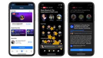 Facebook anuncia clone do Clubhouse, suporte a podcasts e Soundbites