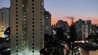 Photo taken with the Galaxy A52's rear camera in night mode (Image: Paulo Higa/Tecnoblog)