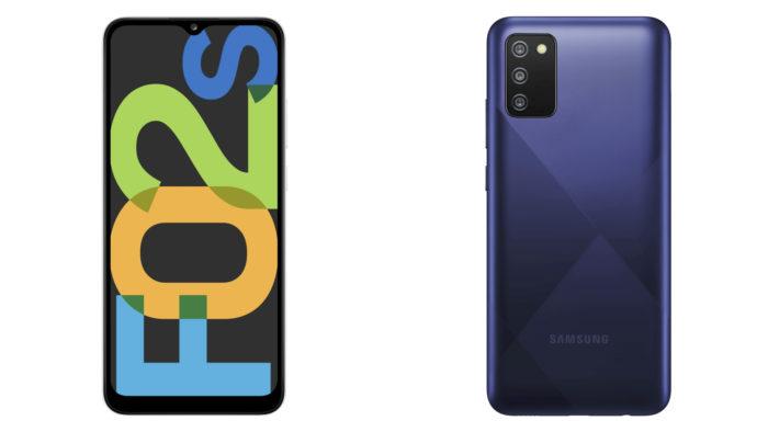 Samsung <a href='https://meuspy.com/tag/Espionar-Galaxy'>Galaxy</a> F02s (Imagem: Divulgação/Samsung)