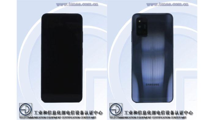Suposto Samsung Galaxy F52 5G (Imagem: Reprodução/TENAA)