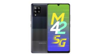 Galaxy M42 5G é lançado com câmera quádrupla de 48 MP e bateria grande