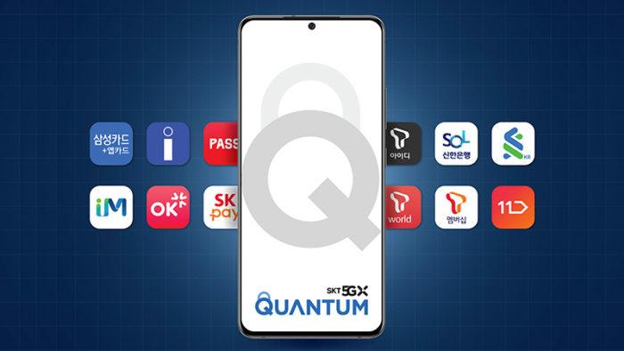 Samsung Galaxy Quantum 2 (Imagem: Divulgação/SK Telecom)