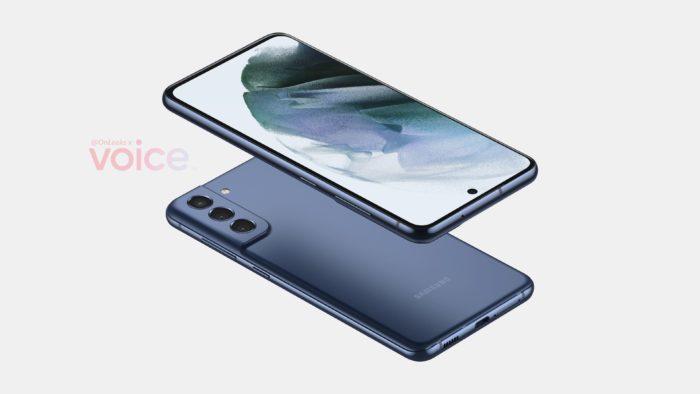 Possível Samsung Galaxy S21 FE (Imagem: Reprodução/Steve Hemmerstoffer/Voice)