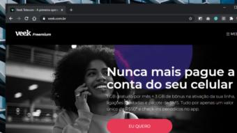 Veek lança plano de celular grátis com internet 4G em troca de anúncios