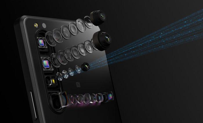 Câmeras do Sony Xperia 1 Mark III (Imagem: Divulgação/Sony)