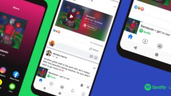 Facebook coloca player de Spotify dentro do app para Android e iPhone