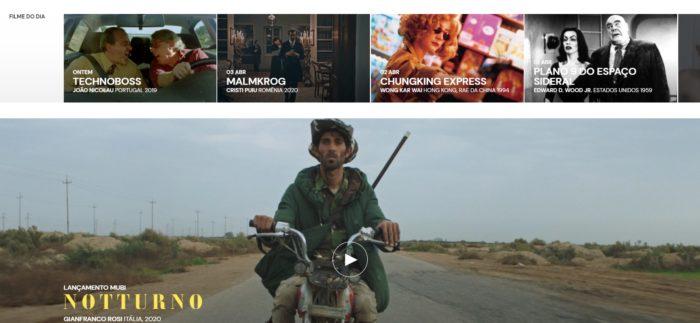 8 sites e apps de streaming de filmes clássicos, cults ou alternativos / MUBI / Reprodução