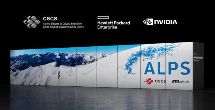 Supercomputador Alps (imagem: divulgação/Nvidia)