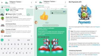 Telegram permite testar venda e pagamento de produtos via chat