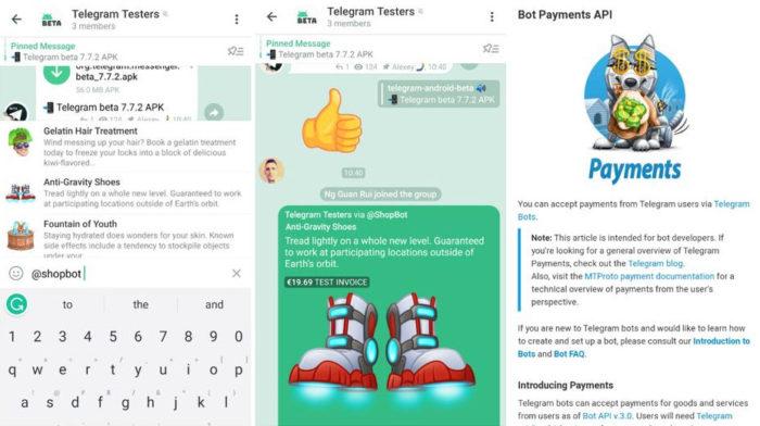 Telegram Payments (Imagem: Reprodução/TestingCatalog)