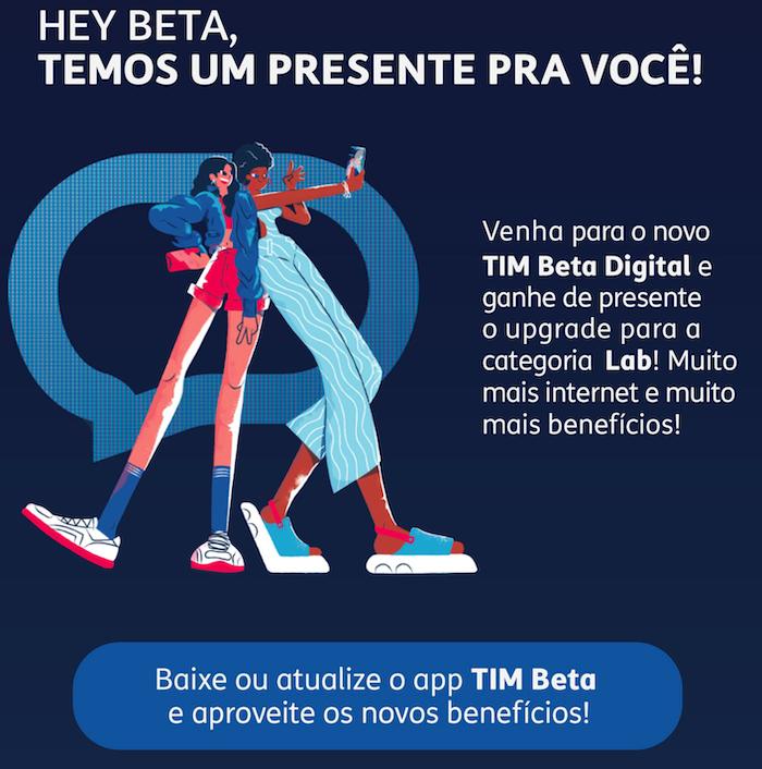 Cartilha enviada pela TIM para clientes do Beta (Imagem: Reprodução)