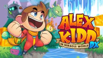 Alex Kidd in Miracle World DX chega em junho ao Brasil e em português