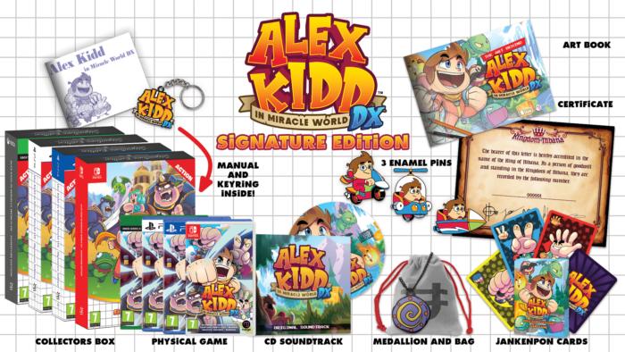 Alex Kidd in Miracle World DX tem edição especial opcional (Imagem: Divulgação/Merge Games)