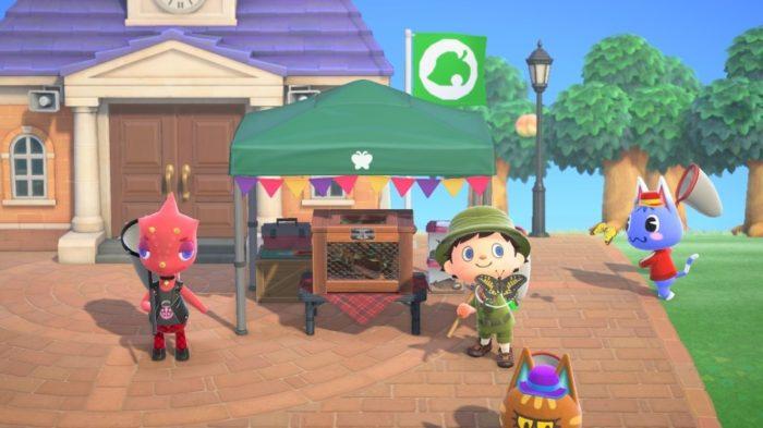 Torneio de caça em Animal Crossing: New Horizons (Imagem: Divulgação/Nintendo)