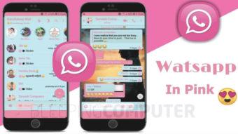 WhatsApp Pink é app falso que envia spam via Telegram e Signal