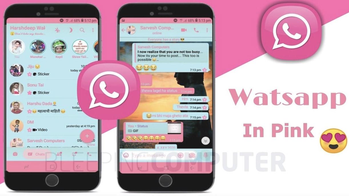 WhatsApp Pink é app falso que envia spam via Telegram e Signal | Antivírus e Segurança