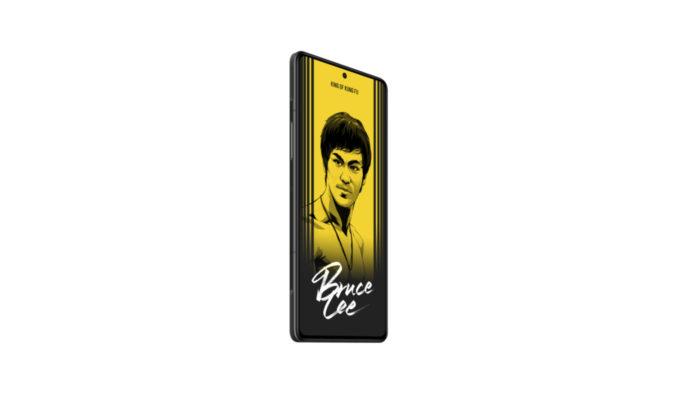 Redmi K40 Gaming Edition: edição especial do Bruce Lee (Imagem: Divulgação/Xiaomi)