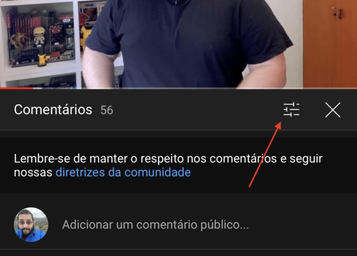 YouTube testa comentários fixados na barra de progresso (Imagem: reprodução)
