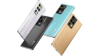 ZTE Axon 30 Ultra tem três câmeras de 64 MP e tela de 144 Hz
