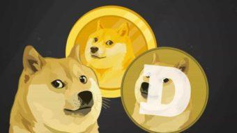 Dogecoin sobe 50% e bate recorde após ser listado em novas exchanges