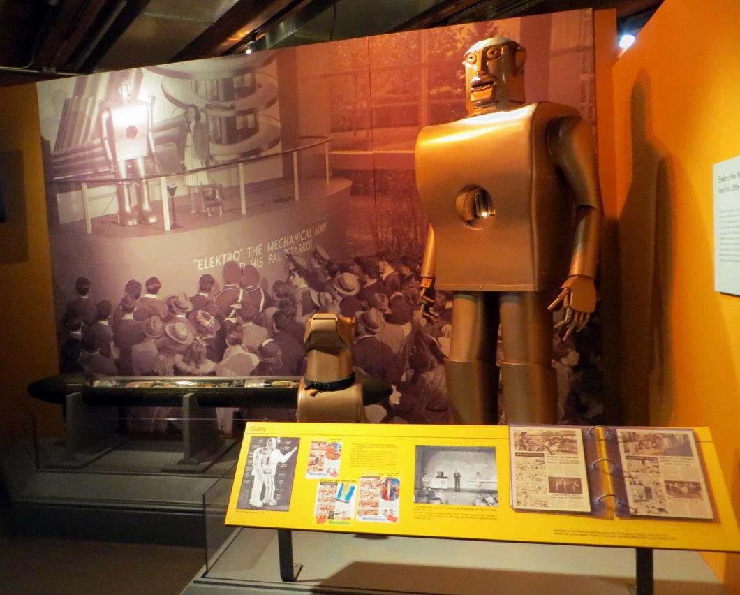 Robô Elektro (Imagem: John Smatlak/Flickr Creative Commons)