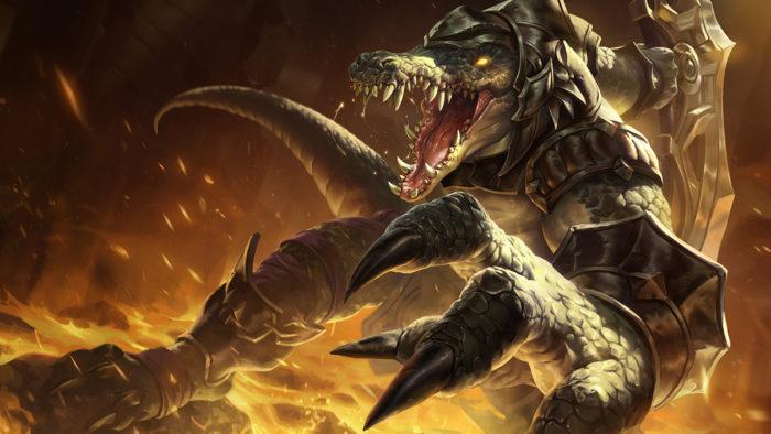 Renekton, de League of Legends (Imagem: Divulgação/Riot Games)