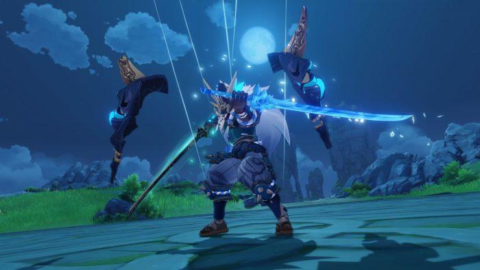 Maguu Kenki será um dos inimigos do evento Midsummer Island Adventure em Genshin Impact (Imagem: Divulgação/miHoYo)