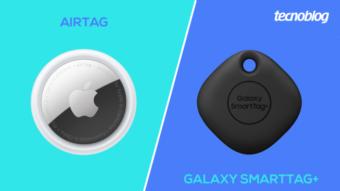 AirTag ou Galaxy SmartTag+; qual é a diferença?