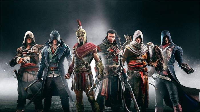 A ordem completa de Assassin's Creed (Imagem: Ubisoft/Divulgação)