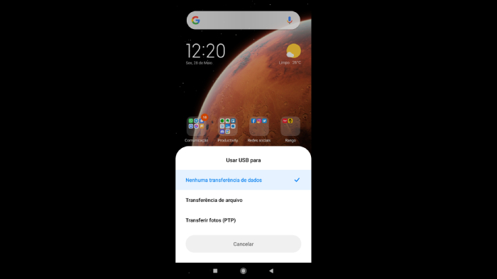 Como fazer um backup do Android no PC (Imagem: Leandro Kovacs/Reprodução)