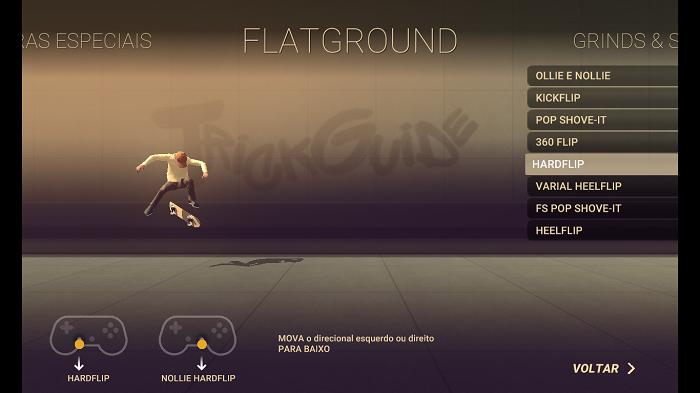 Como jogar Skate City (Imagem: Leandro Kovacs/Reprodução)