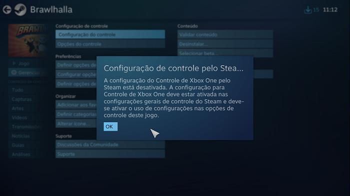 Como remapear controles no PC pelo Steam (Imagem: Leandro Kovacs/Reprodução)