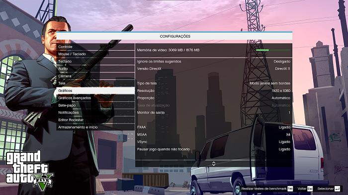 Como rodar o GTA V em um PC fraco (Imagem: Diego Melo/Reprodução) )
