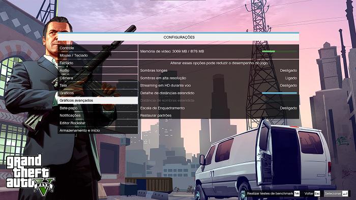Como rodar o GTA V em um PC fraco (Imagem: Diego Melo/Reprodução)