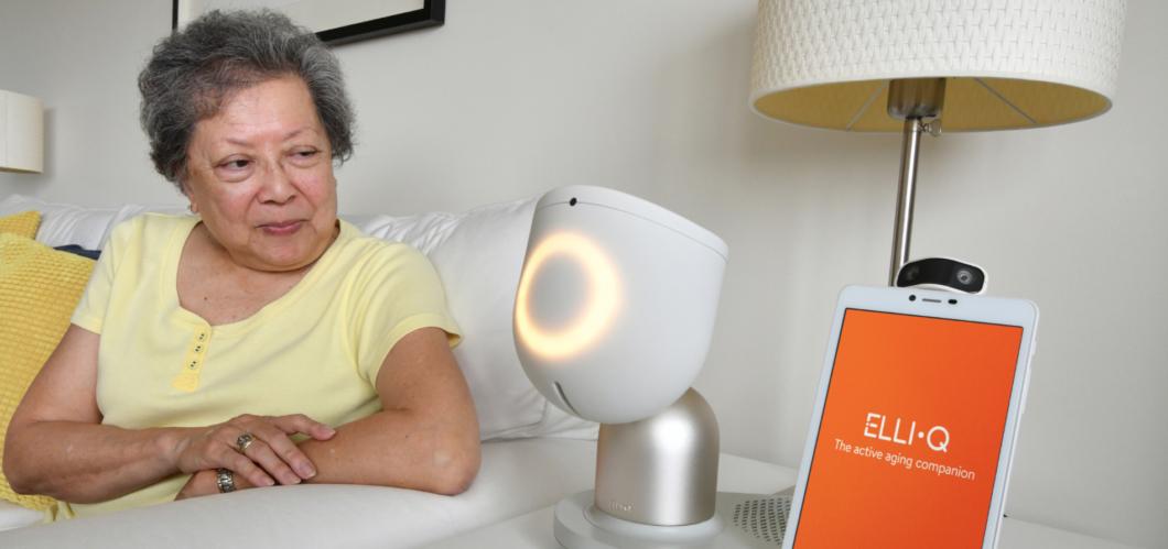 ElliQ Robot (Image: Press Release / ElliQ)