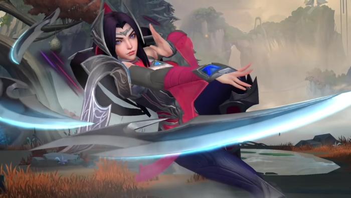 Irelia, em LoL: Wild Rift (Imagem: Reprodução/YouTube League of Legends: Wild Rift)