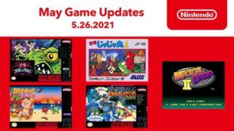 Nintendo Switch Online de maio tem 5 jogos de SNES e NES
