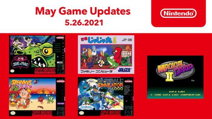 Nintendo Switch online maio