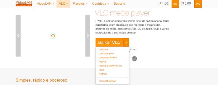 O que é VLC? (Imagem: Leandro Kovacs/Reprodução)