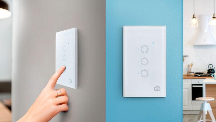 Positivo Smart Interruptor Wi-Fi (Imagem: Divulgação/Positivo)