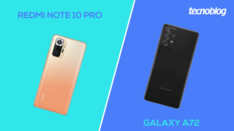 Comparativo: Redmi Note 10 Pro ou Galaxy A72; qual comprar?