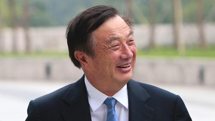 Ren Zhengfei, fundador e CEO da Huawei (Imagem: HM treasury/Flickr)